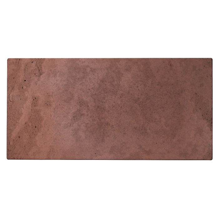 8x16 Roman Tile City Hall Red Limestone