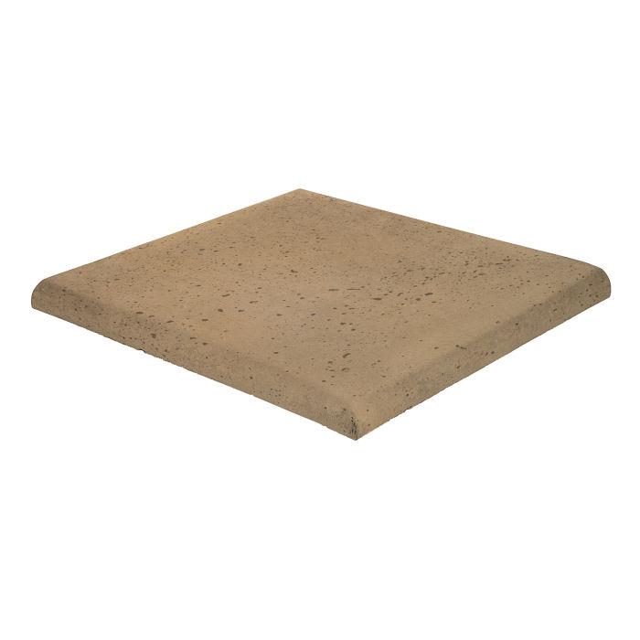 14x14 Roman Tile SBN Corner Caqui Travertine