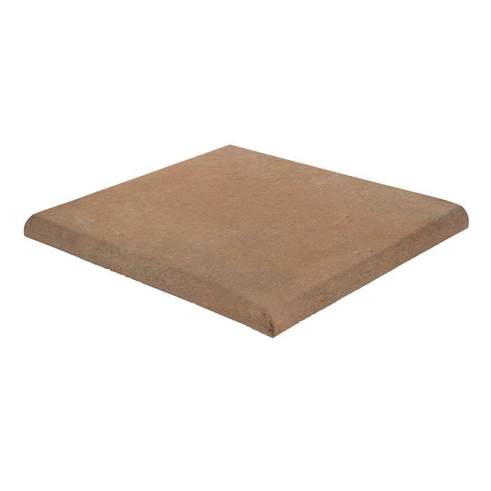 18x18 Roman Tile SBN Corner Gold