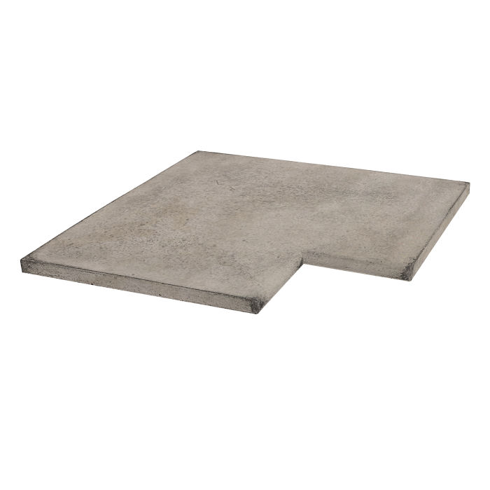 16x16 Roman Tile SBN Inside CornerNatural Gray Limestone