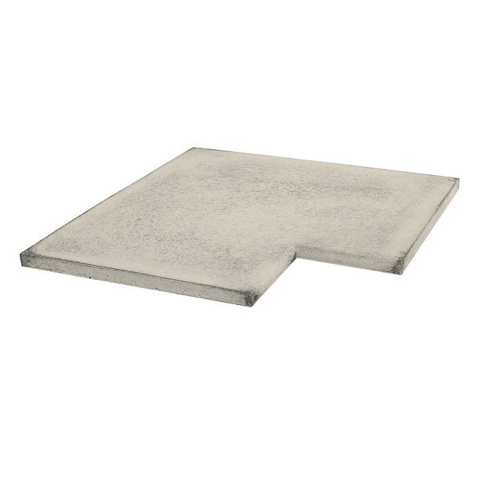 16x16 Roman Tile SBN Inside Corner Rice