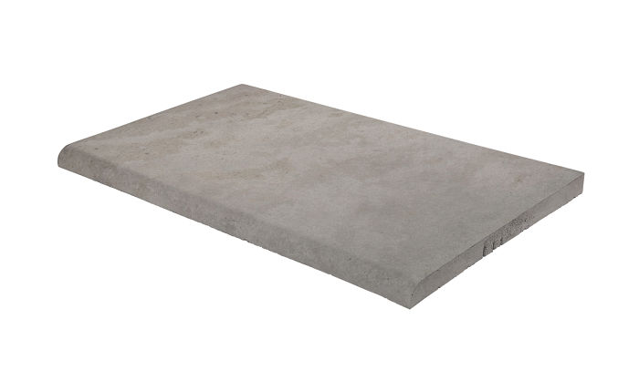 14x24 Roman Tile SBN Sidewalk Gray Limestone