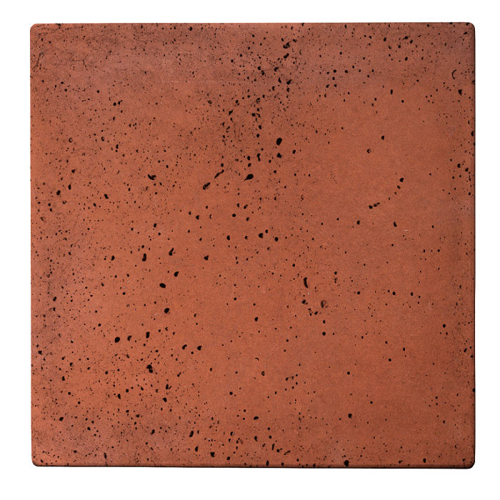 12x12 Roman Tile Mission Red Travertine