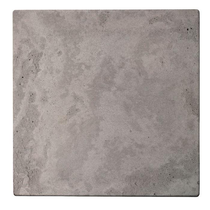 16x16 Roman Tile Sidewalk Gray Limestone