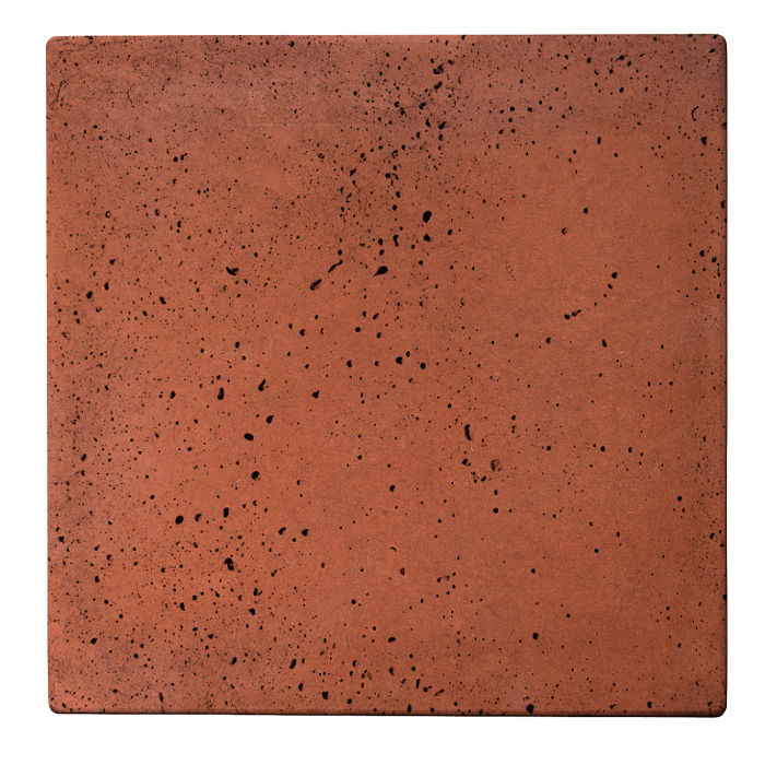 18x18 Roman Tile Mission Red Travertine