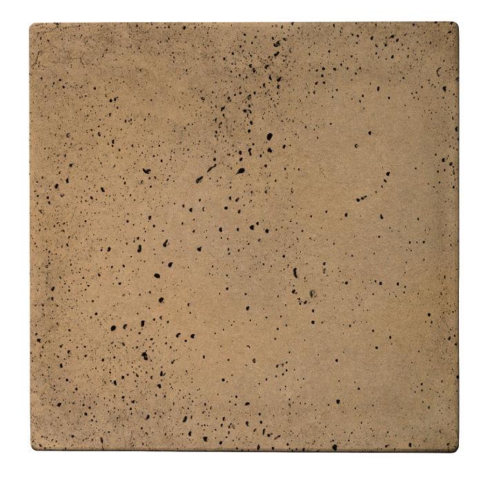 24x24 Roman Tile Caqui Travertine