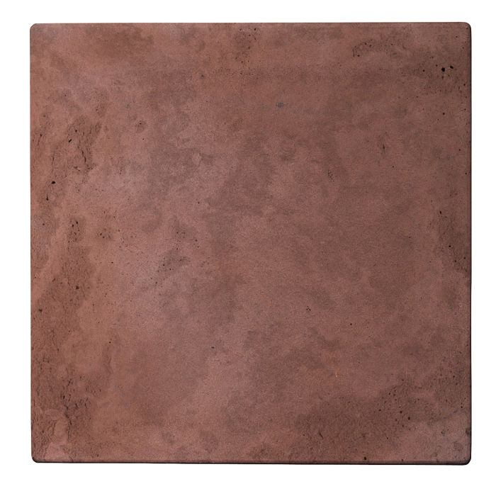 24x24 Roman Tile City Hall Red Limestone