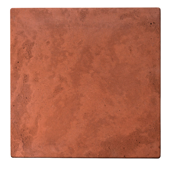 24x24 Roman Tile Mission Red Limestone