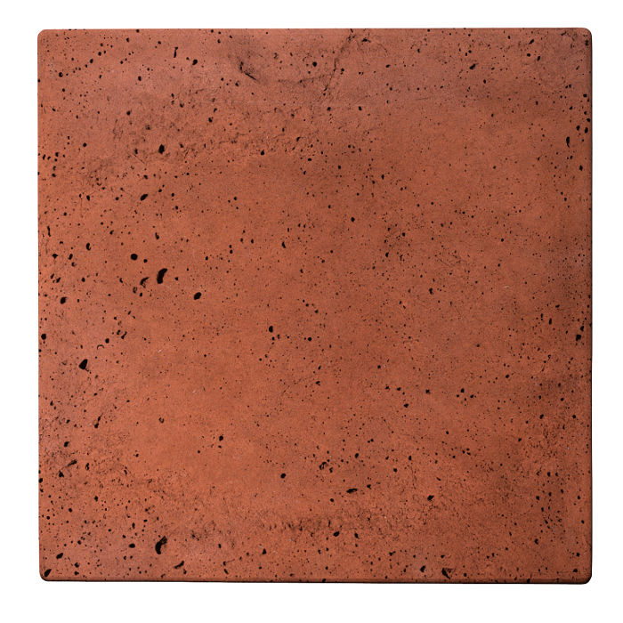 24x24 Roman Tile Mission Red Luna