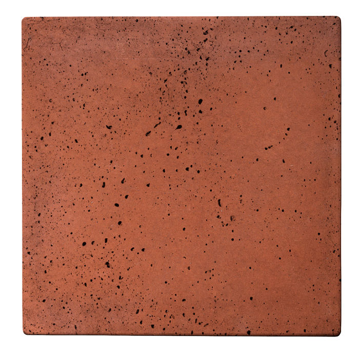24x24 Roman Tile Mission Red Travertine