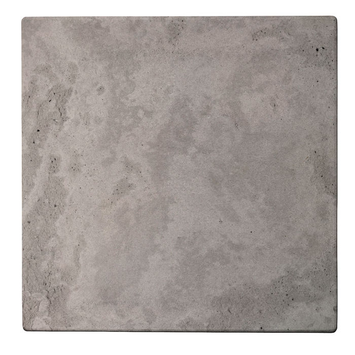 24x24 Roman Tile Sidewalk Gray Limestone