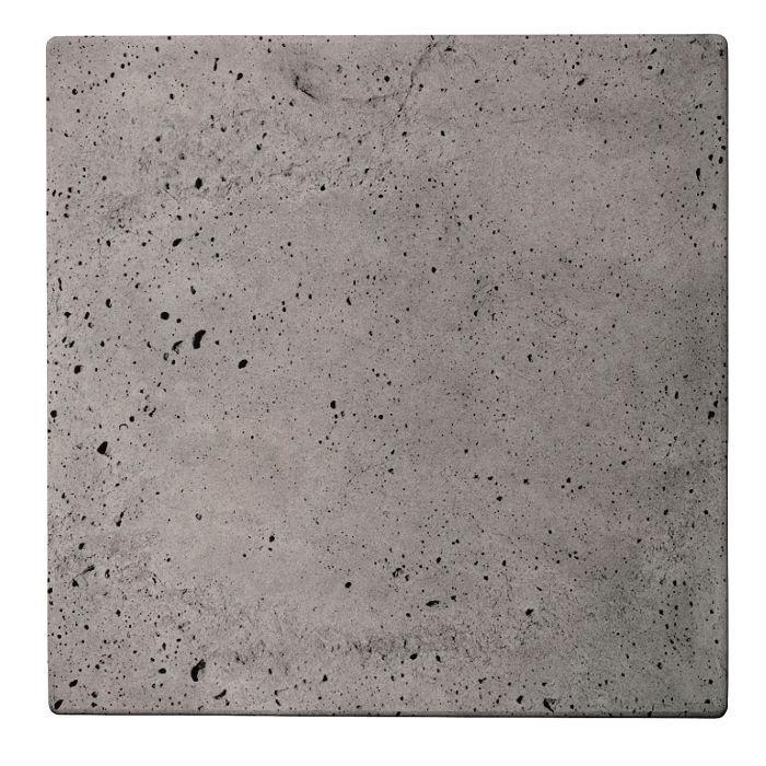 36x36 Roman Tile Sidewalk Gray Luna