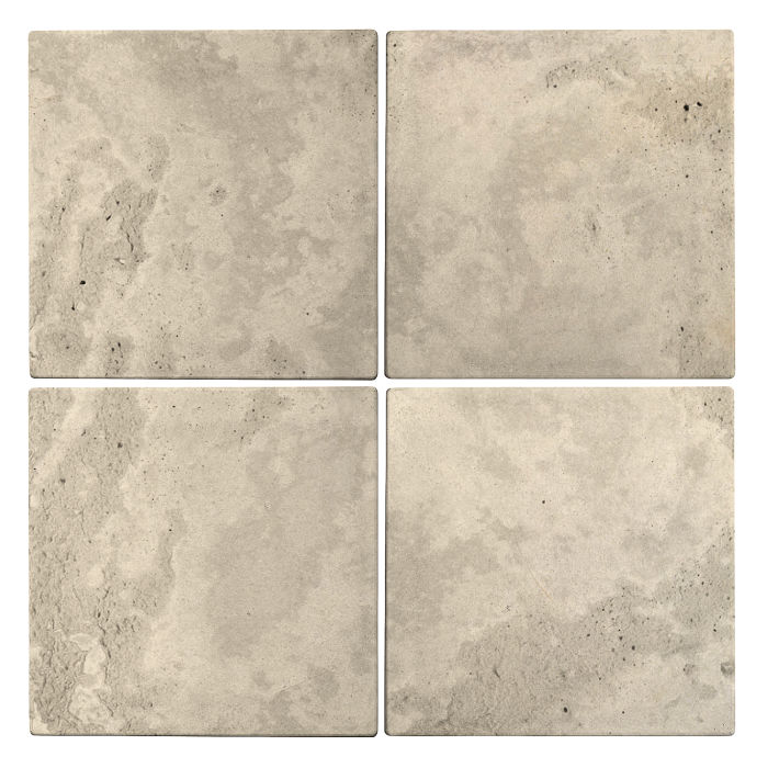 6x6 Roman Tile Early Gray Limestone