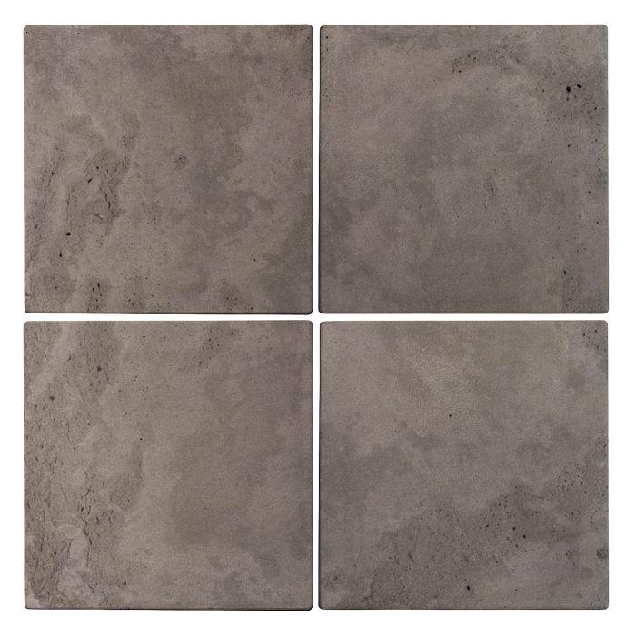 6x6 Roman Tile Smoke Limestone
