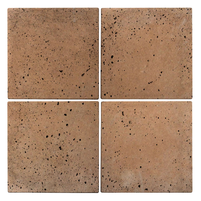 8x8 Roman Tile Gold Travertine