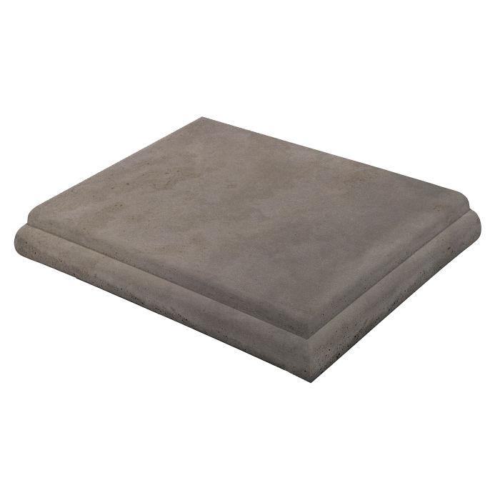 16x16 Roman Tile STYLE 1 Staritread Corner Smoke Limestone