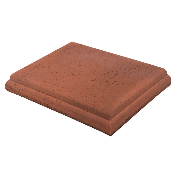 18x18 Roman Tile STYLE 1 Staritread Corner Mission Red Travertine