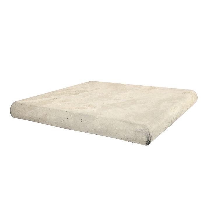 18x18 Roman Tile STYLE 2 Staritread Corner Rice Limestone