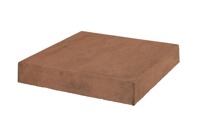12x12 Roman Tile Stairtread Corner Desert 1 Limestone
