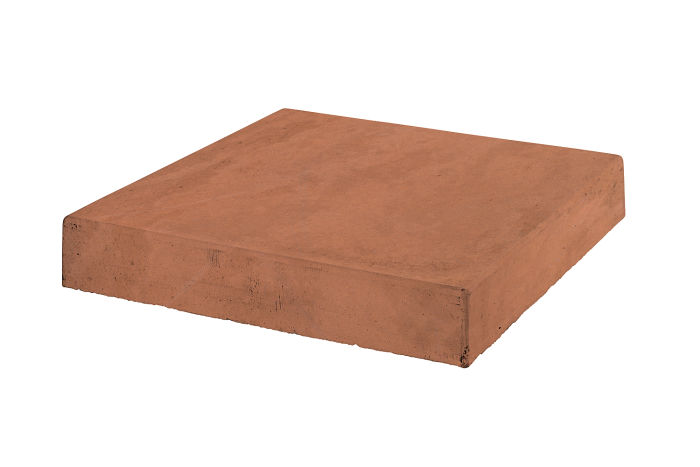 12x12 Roman Tile Stairtread Corner Desert Limestone
