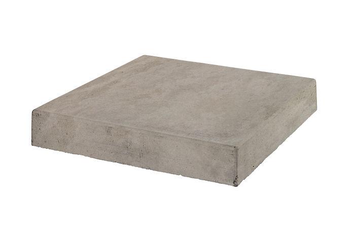 12x12 Roman Tile Stairtread CornerNatural Gray Limestone