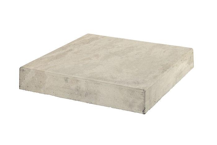12x12 Roman Tile Stairtread Corner Rice Limestone