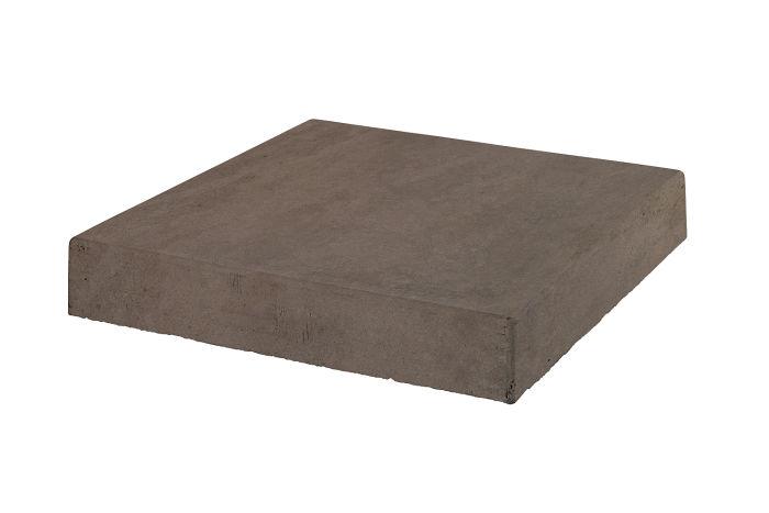 18x18 Roman Tile Stairtread Corner Charley Brown Limestone