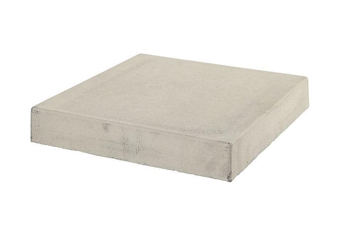 18x18 Roman Tile Stairtread Corner Rice