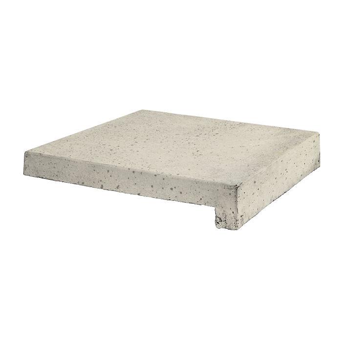12x12 Roman Tile Stairtread Rice Travertine