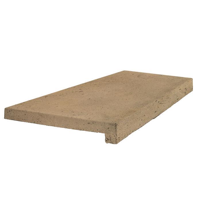 18x24 Roman Tile Stairtread Caqui Luna