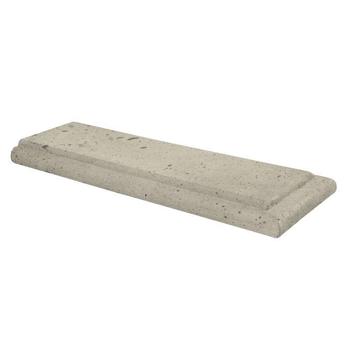 12x24 Roman Wall Cap Terminal Early Gray Luna