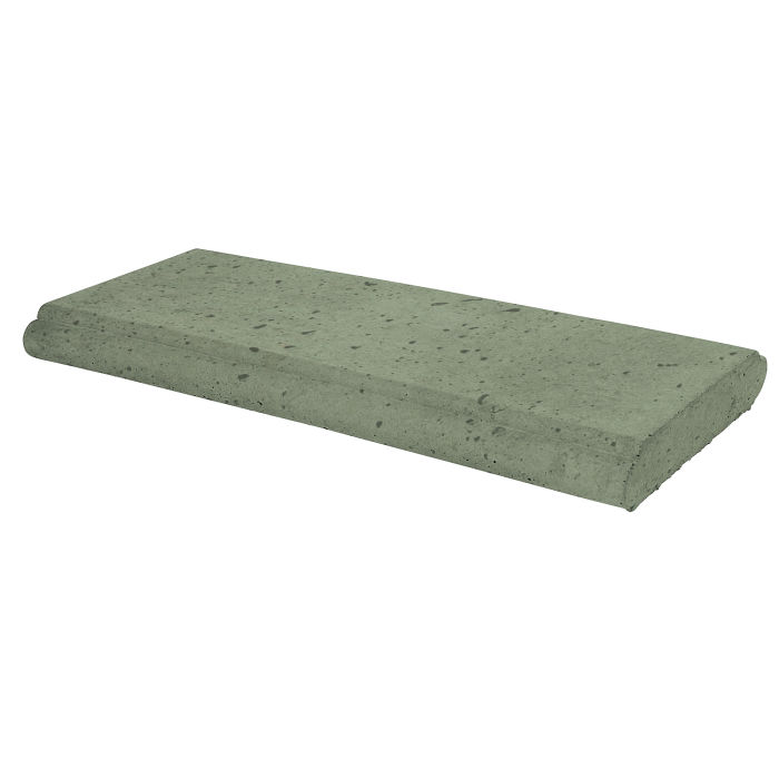 16x24 Roman Wall Cap Ocean Green Light Travertine