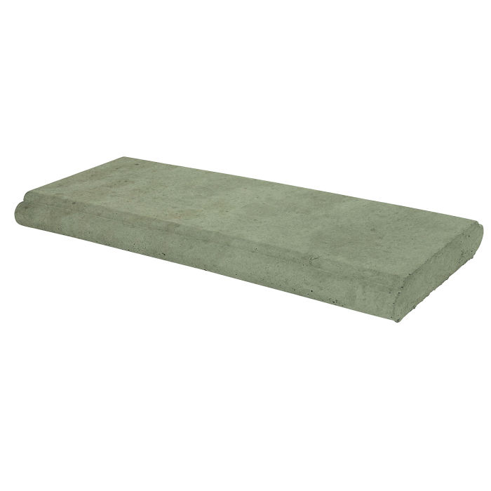 18x24 Roman Wall Cap Ocean Green Light Limestone