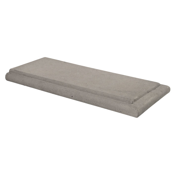 20x24 Roman Wall Cap Terminal Natural Gray
