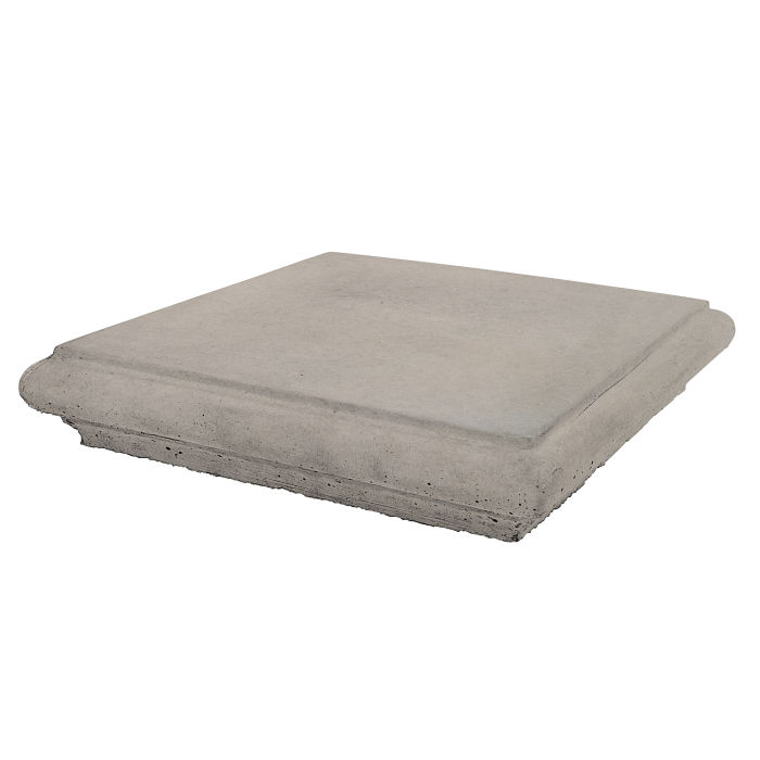 Roman Pier Cap 1 12x12 Natural Gray