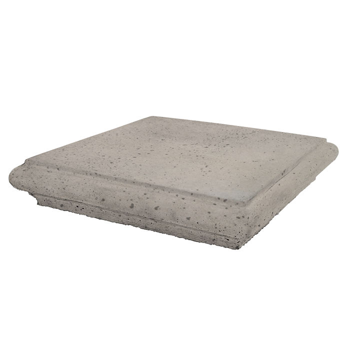 Roman Pier Cap 1 12x12 Natural Gray Travertine