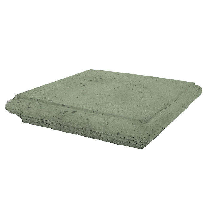 Roman Pier Cap 1 12x12 Ocean Green Light Luna