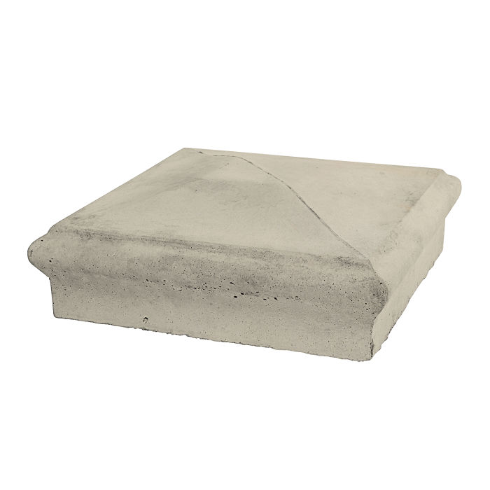 Roman Pier Cap 3 12x12 Early Gray