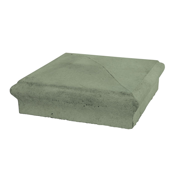 Roman Pier Cap 3 12x12 Ocean Green Light
