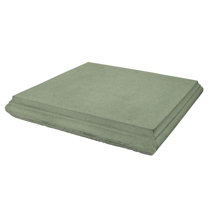 Roman Pier Cap 4 24x24 Ocean Green Light