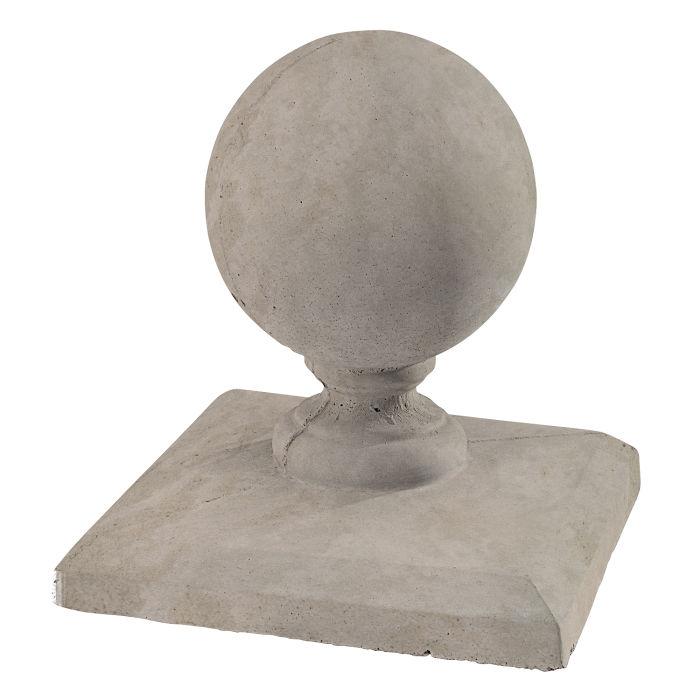 Roman Pier Cap 5 12x12 Natural Gray Limestone