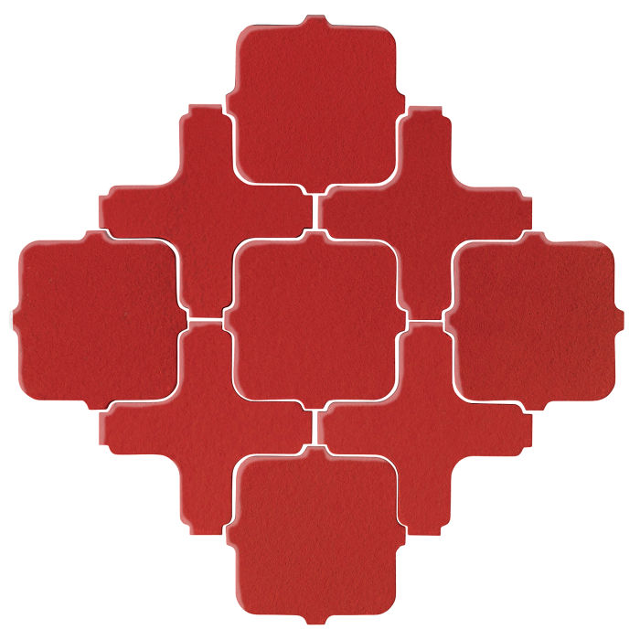 Studio Field Arabesque Pattern 11A Apple Valley Red
