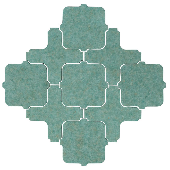 Studio Field Arabesque Pattern 11A Aqua 5503u