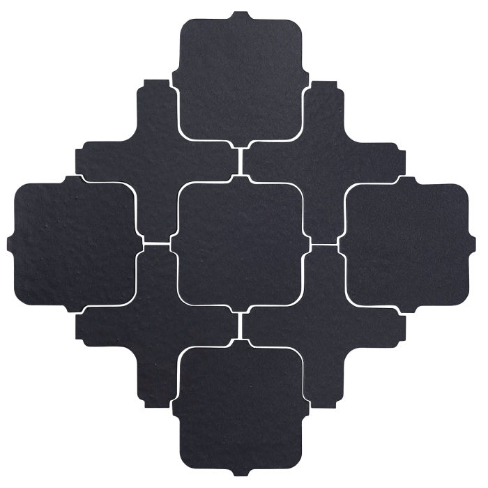 Studio Field Arabesque Pattern 11A Black Diamond