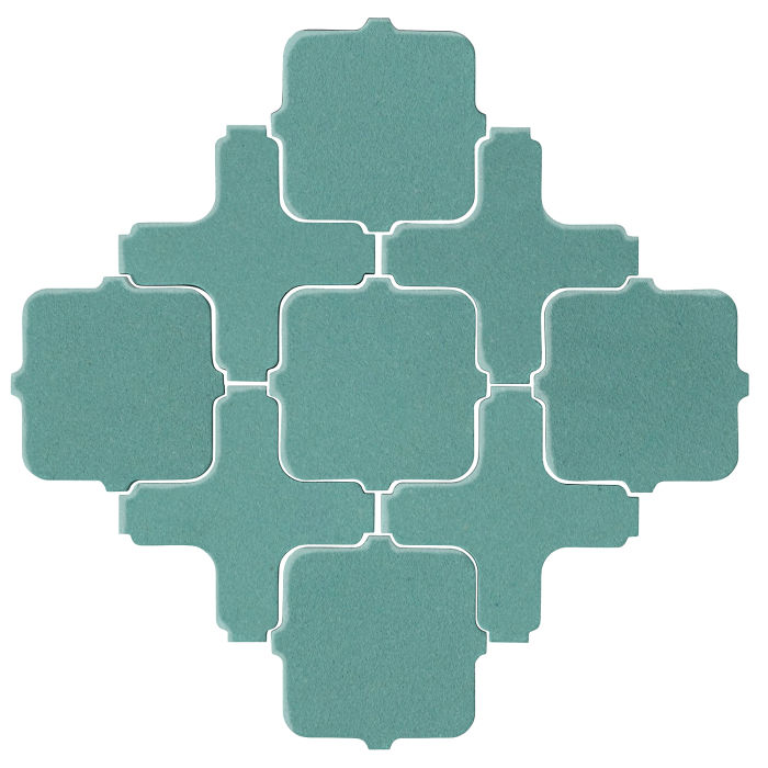 Studio Field Arabesque Pattern 11A Blue Haze 7458c