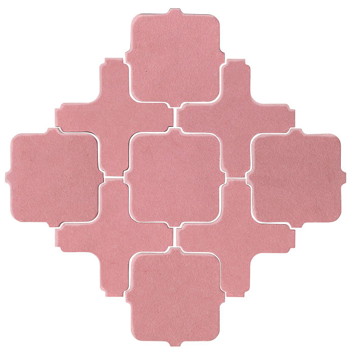 Studio Field Arabesque Pattern 11A Bubble Gum