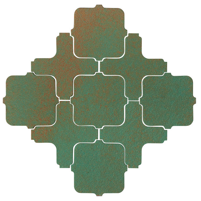 Studio Field Arabesque Pattern 11A Copper