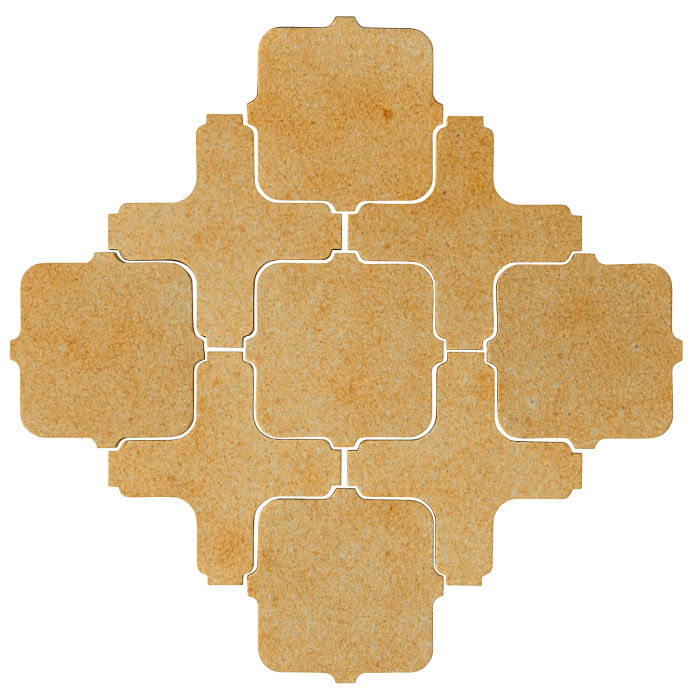 Studio Field Arabesque Pattern 11A Deli Mustard 7551u
