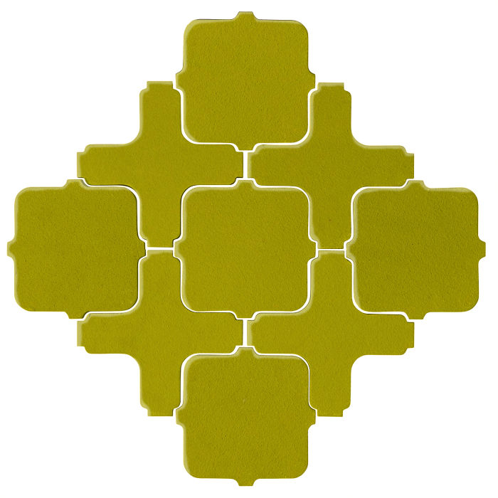 Studio Field Arabesque Pattern 11A Guacamole 7495c