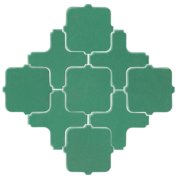 Studio Field Arabesque Pattern 11A Kale 7723c